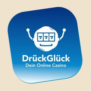 DrückGlück Casino Bonus – 50€ und 50 Freispiele abholen